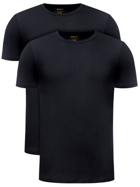 Polo Ralph Lauren Polo Ralph Lauren Σετ 2 T-Shirts 714513432 Μαύρο Slim Fit