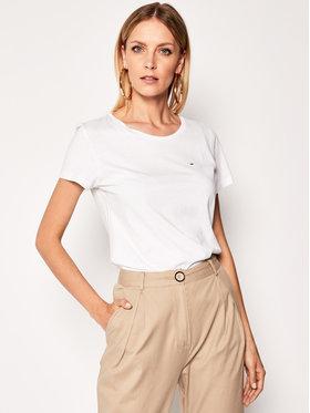 Tommy Jeans Tommy Jeans T-shirt Tjw Original DW0DW04709 Blanc Regular Fit