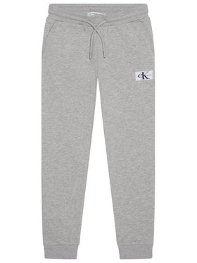 Calvin Klein Jeans Calvin Klein Jeans Pantaloni da tuta Monogram IB0IB00519 Grigio Regular Fit