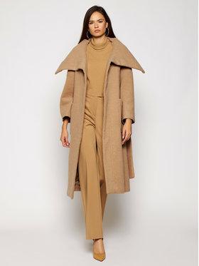 MAX&Co. MAX&Co. Gyapjú kabát Giada 70140720 Barna Regular Fit
