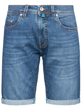 Pierre Cardin Pierre Cardin Pantaloni scurți de blugi 3452/000/8860 Bleumarin Regular Fit