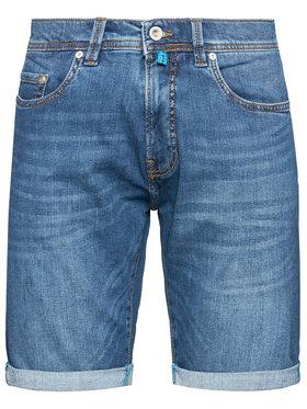 Pierre Cardin Pierre Cardin Szorty jeansowe 3452/000/8860 Granatowy Regular Fit