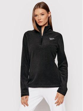 Reebok Reebok Polár kabát Outerwear GR8960 Fekete Slim Fit