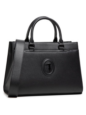 Trussardi Trussardi Handtasche Main Dahlia Handle 75B01128 Schwarz