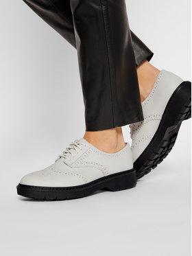 Clarks Clarks Oxford cipők Witcombe Echo 261553684 Fehér
