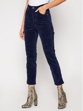 Wrangler Wrangler Pantaloni din material Western W2WZA2144 Bleumarin Regular Fit