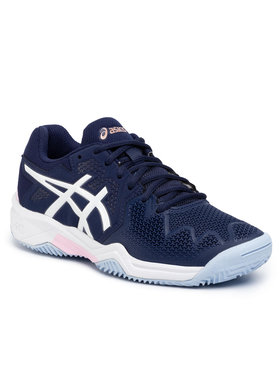 Asics Asics Παπούτσια Gel-Resolution 8 Clay Gs 1044A019 Σκούρο μπλε