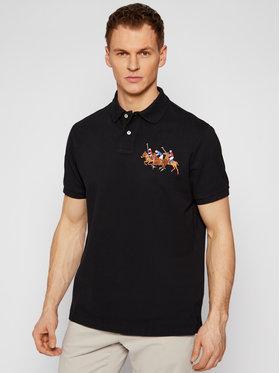 Polo Ralph Lauren Polo Ralph Lauren Тениска с яка и копчета Classics 710814437001 Черен Slim Fit