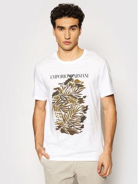 Emporio Armani Emporio Armani Тишърт 211818 1P468 69610 Бял Regular Fit