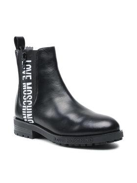 LOVE MOSCHINO LOVE MOSCHINO Členková obuv s elastickým prvkom JA21094G1DIA0000 Čierna
