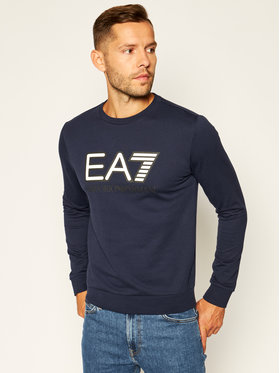 EA7 Emporio Armani EA7 Emporio Armani Sweatshirt 6HPM60 PJ05Z 0554 Dunkelblau Regular Fit