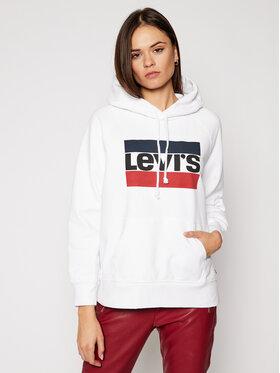 Levi's® Levi's® Mikina Graphic Sport 35946-0001 Bílá Regular Fit