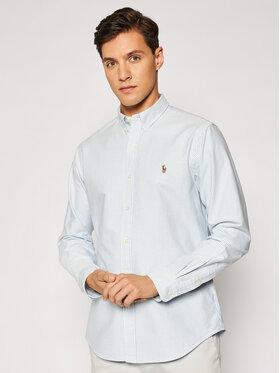 Polo Ralph Lauren Polo Ralph Lauren Риза Core Replen 710549084 Син Slim Fit