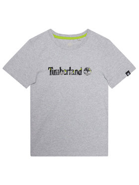 Timberland Timberland T-shirt T45818 Grigio Regular Fit