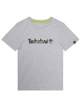 Timberland Timberland T-shirt T45818 Gris Regular Fit