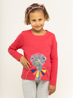 Billieblush Billieblush Bluză U15685 Roz Regular Fit