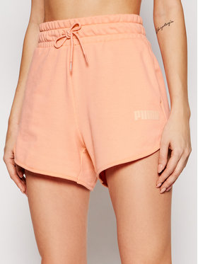Puma Puma Sportske kratke hlače Modern Basics 585936 Ružičasta Regular Fit