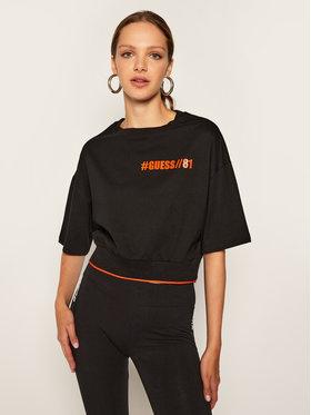 Guess Guess T-Shirt Tianna W0BI93 K8FQ1 Schwarz Relaxed Fit
