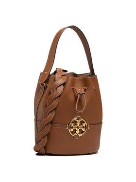 Tory Burch Tory Burch Τσάντα Miller Bucket Bag 79323-905 Καφέ