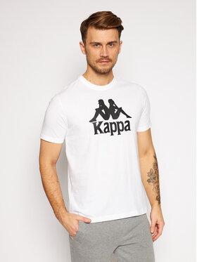 Kappa Kappa T-Shirt Caspar 303910 Weiß Regular Fit