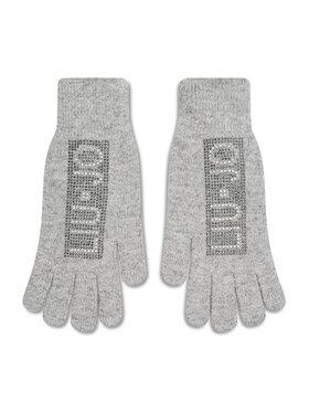 Liu Jo Liu Jo Damenhandschuhe Guanto Pave Logo St 3F1014 M0300 Grau