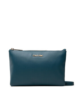 Calvin Klein Calvin Klein Handtasche Ck Must Ew Dbl Cpt Xbody K60K608409 Blau