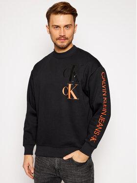 Calvin Klein Jeans Calvin Klein Jeans Mikina J30J316806 Čierna Regular Fit