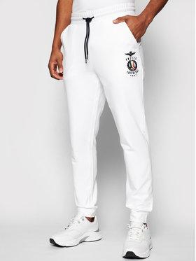 Aeronautica Militare Aeronautica Militare Pantaloni da tuta 211PF800F424 Bianco Regular Fit