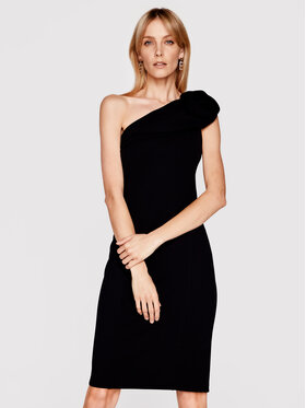Babylon Babylon Sukienka koktajlowa N_MF5012 Czarny Slim Fit