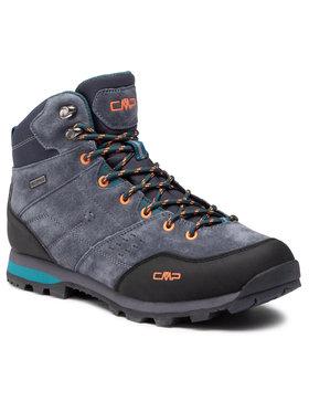 CMP CMP Παπούτσια πεζοπορίας Alcor Mid Trekking Shoes Wp 39Q4907 Γκρι