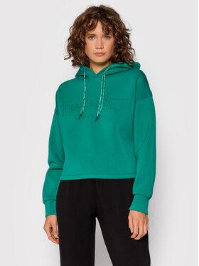 TWINSET TWINSET Majica dugih rukava 212TT2090 Zelena Regular Fit