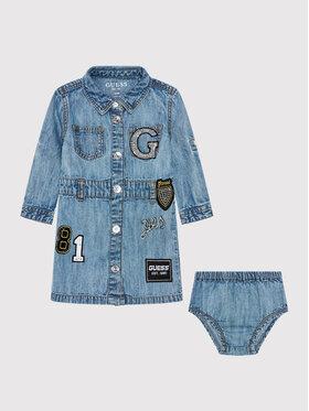 Guess Guess Vestito da giorno A1YK10 D4E90 Blu Regular Fit