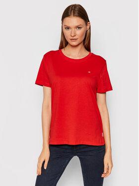 Calvin Klein Calvin Klein Тишърт Small C-Neck K20K202132 Червен Regular Fit