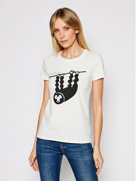 Weekend Max Mara Weekend Max Mara T-Shirt Selva 59710111 Weiß Regular Fit