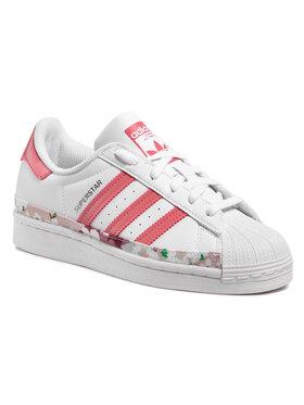 adidas adidas Обувки Superstar J FY5373 Бял