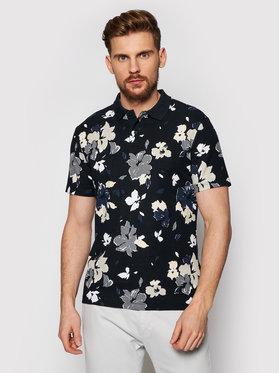 Calvin Klein Calvin Klein Polokošile Allover Flower Print K10K107151 Černá Slim Fit