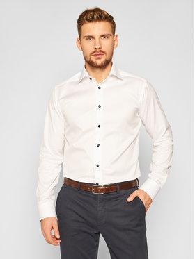 Eton Eton Košile 100001728 Bílá Slim Fit