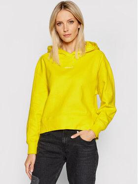 Calvin Klein Jeans Calvin Klein Jeans Bluză J20J215462 Galben Regular Fit