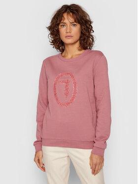 Trussardi Trussardi Bluza 56F00169 Różowy Regular Fit