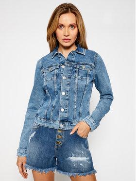 Tommy Jeans Tommy Jeans Geacă de blugi Vivianne Denim Trucker DW0DW10074 Bleumarin Slim Fit