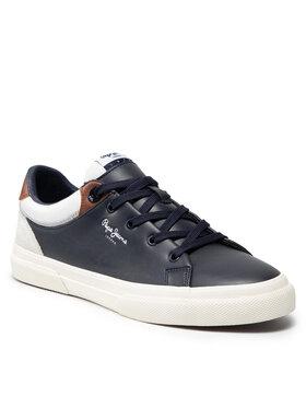 Pepe Jeans Pepe Jeans Sneakersy Kenton Class PMS30764 Tmavomodrá