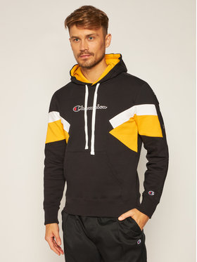 Champion Champion Pulóver Sweet Capuche 214783 Fekete Comfort Fit