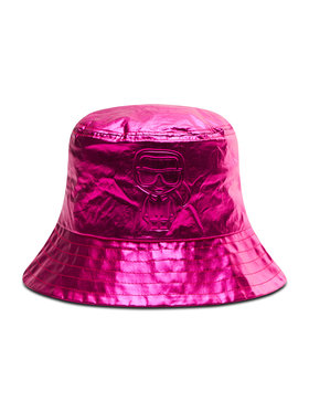 KARL LAGERFELD KARL LAGERFELD Klobúk typu bucket 210W3413 Ružová