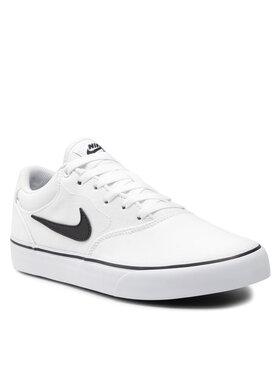 Nike Nike Παπούτσια Sb Chron 2 Cnvs DM3494 100 Λευκό