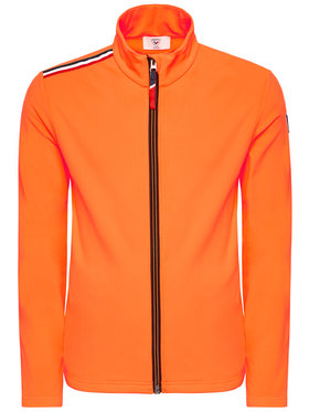 Rossignol Rossignol Felpa Palmares Full Zip RLIML05 Arancione Slim Fit