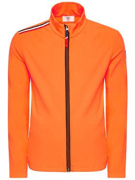 Rossignol Rossignol Μπλούζα Palmares Full Zip RLIML05 Πορτοκαλί Slim Fit