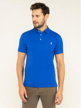 Polo Ralph Lauren Polokošeľa 710541705135 Modrá Slim Fit