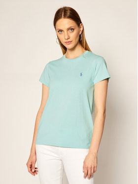 Polo Ralph Lauren Polo Ralph Lauren T-Shirt Ssl 211734144032 Μπλε Regular Fit