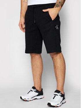 Calvin Klein Jeans Calvin Klein Jeans Szorty sportowe J30J317986 Czarny Regular Fit