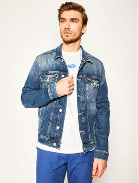 Tommy Jeans Tommy Jeans Geacă de blugi Trucker DM0DM08035 Albastru Regular Fit